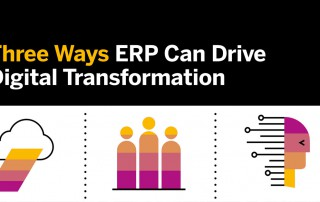 Infographic: Three Ways ERP Can Drive Digital Transformation