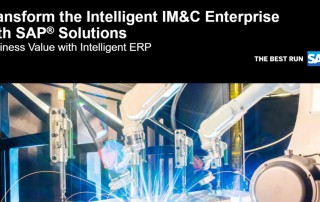 Value Paper: 'Transform the Intelligent IM&C Enterprise with SAP®Solutions'