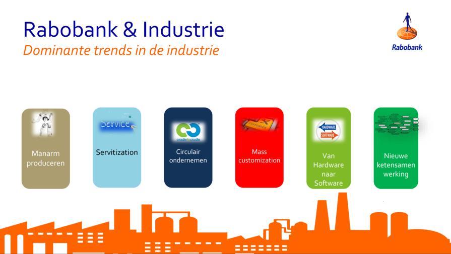 Industrie is meer dan technologie. Industrie is ook omzetontwikkeling, productiviteit, personeelskosten, innovatie, toekomstbestendigheid en investeringen.